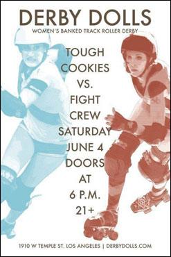 Tough Cookies vs. Fight Crew Flyer