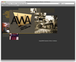 The old AWA homepage