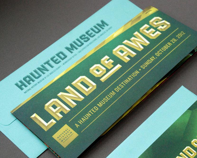 Haunted Museum 2012 invitation